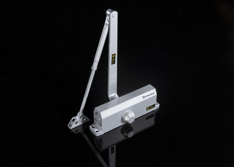 Aluminum Surface Mounted Door Closer D706 with Regular Arm Spring Force Size 6